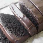 Rich dense and moist Chocolate Pound Cake