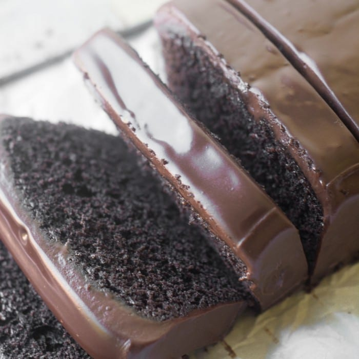 Moist Chocolate Cake Loaf
