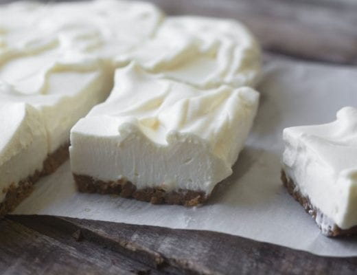 Light as air Lemon Crunch Bars are no-bake!