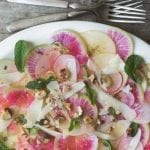 Shaved Apple and Radish Salad