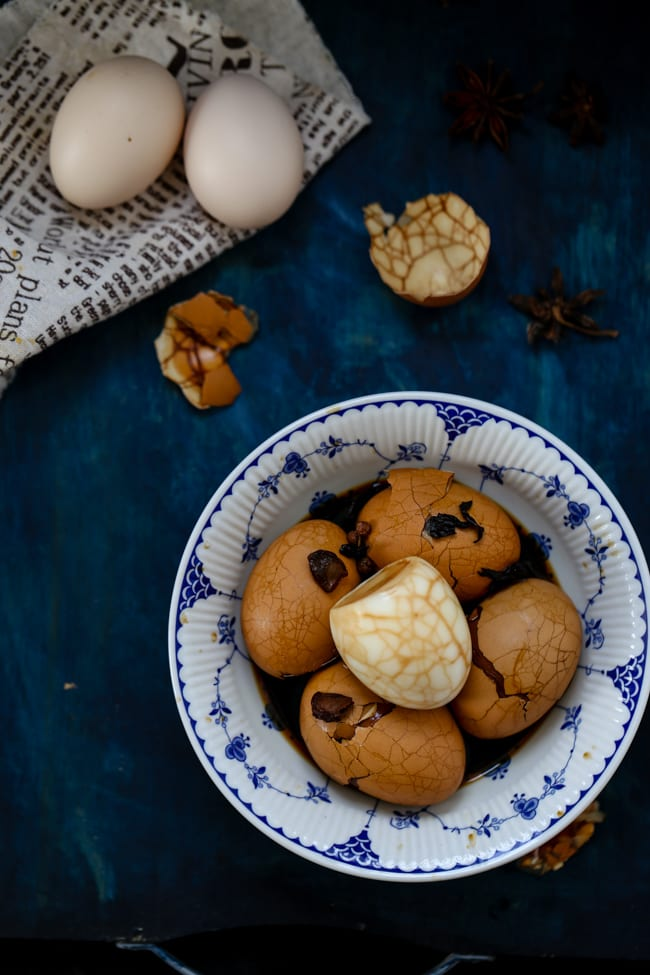 TEA EGGS (MARBLED EGGS) by China Sichuan Food