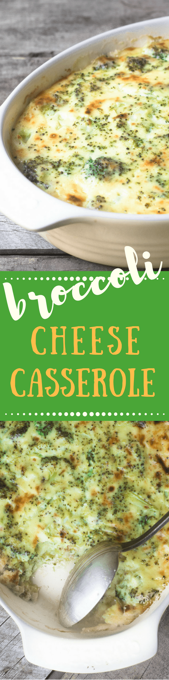 Broccoli Cheese Casserole is the ultimate comfort! ~ theviewfromgreatisland.com