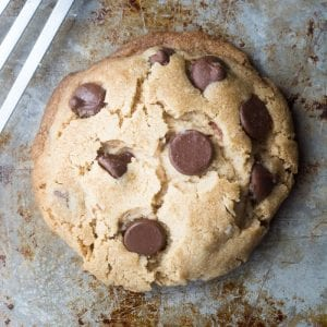The secret to THE PERFECT Cookie for One!