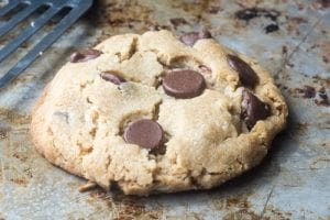 The Secret to The Perfect Chocolate Chip Cookie For One!