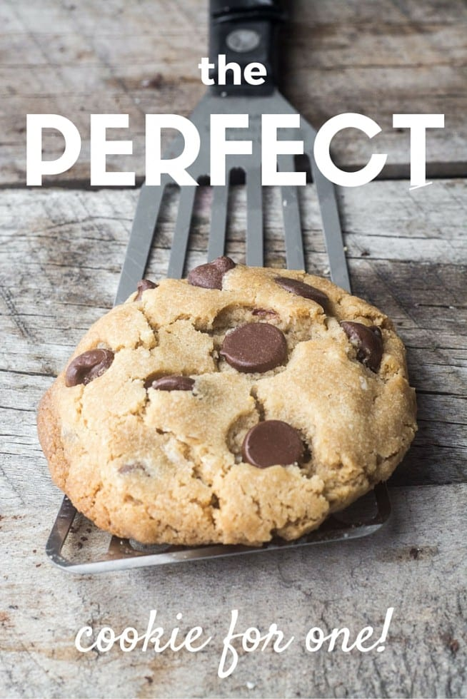 the ultimate secrets for making the PERFECT cookie for one!