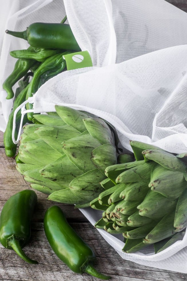 Earth Day MightyFix Promo | reusuable produce bags