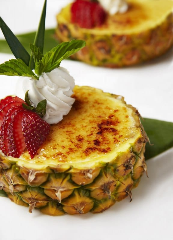 Creme Bruleed Pineapple | Tommy Bahmama