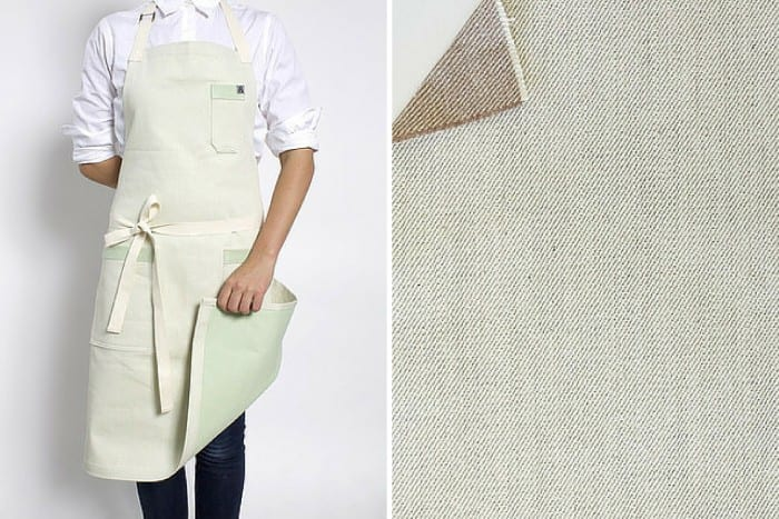 American Artisans: hedley & bennett apron made from recycled Sprite bottles