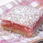 Super tangy Hibiscus Lemon Bars