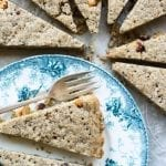 Espresso Sugar Shortbread is the perfect coffee break recipe --- it's guaranteed to perk you up! | theviewfromgreatisland.com