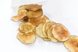 Skinny Microwave Jalapeno Potato Chips