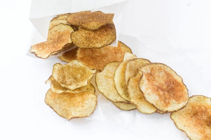 Skinny Microwave Jalapeno Potato Chips