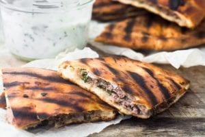 Spiced Lamb Pita Burgers --- this fresh new take on a burger will get everybody excited --- theviewfromgreatisland.com
