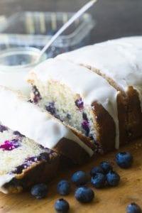Blueberry Lemon Pound Cake | theviewfromgreatisland.com