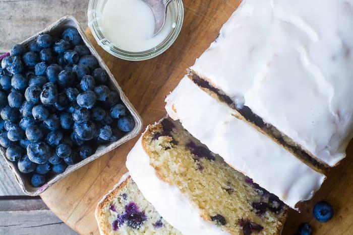 Blueberry Lemon Pound Cake recipe | theviewfromgreatisland.com