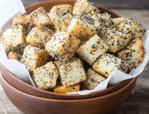 'Everythinng' Croutons are full of big flavor and crunch!   theviewfromgreatisland.com
