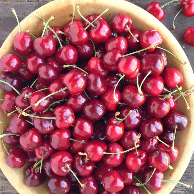 A bowl of cherries | theviewfromgreatisland.com