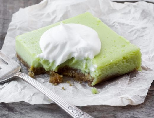 Super Tangy Lime Bars are the perfectly refreshing, not - too - sweet treat! | theviewfromgreatisland.com