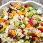 Israeli Pasta Salad