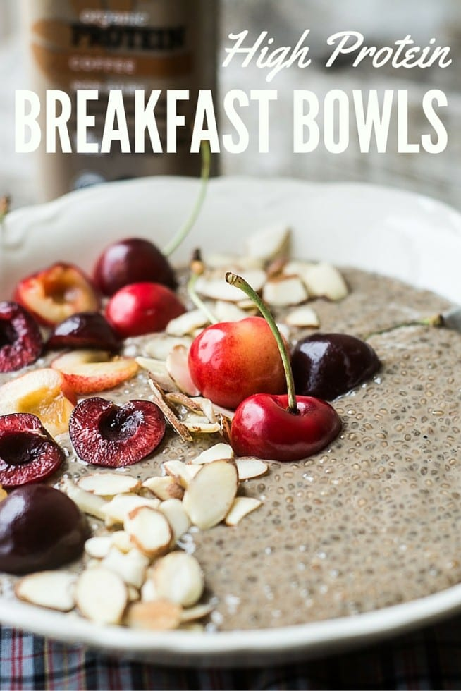 Healthy Vegan Breakfast Bowls are gluten and dairy free, full of protein, and make a beautiful alternative to a hot breakfast in the warmer months! | theviewfromgreatisland.com