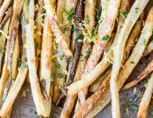 Skinny Fries are crispy and delicious without the calories | theviewfromgreatisland.com