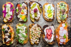 Wild Caught Tuna Crostini --- these little toasts are fun to make and so healthy --- theviewfromgreatisland.com