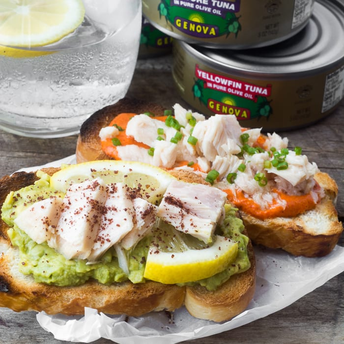 Colorful and healthy Summer Crostini | theviewfromgreatisland.com