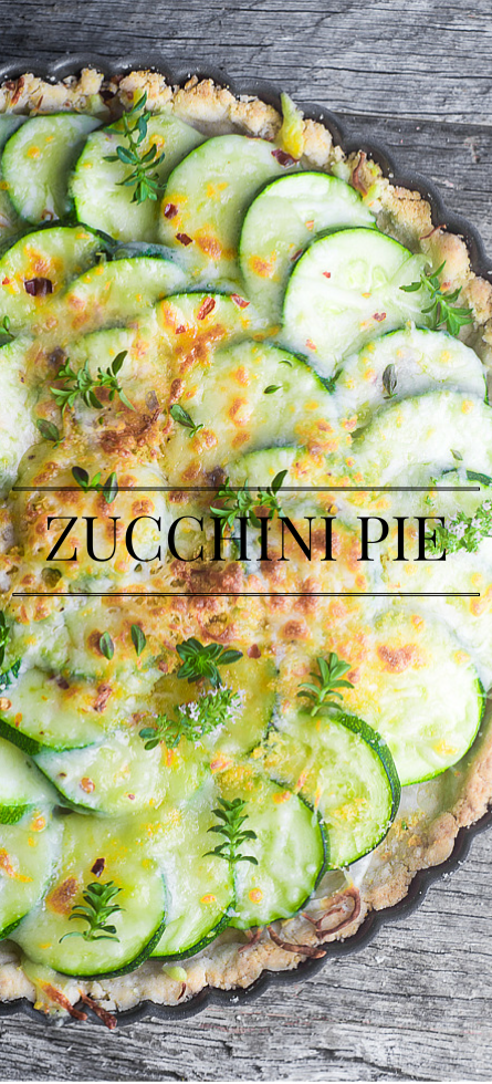 Rustic Zucchini Pie is a nod to one of the most beloved summer recipes of the South, tomato pie --- use it as an easy side dish or a light meal ~ theviewfromgreatisland.com