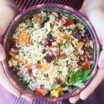 Couscous Almondine Salad