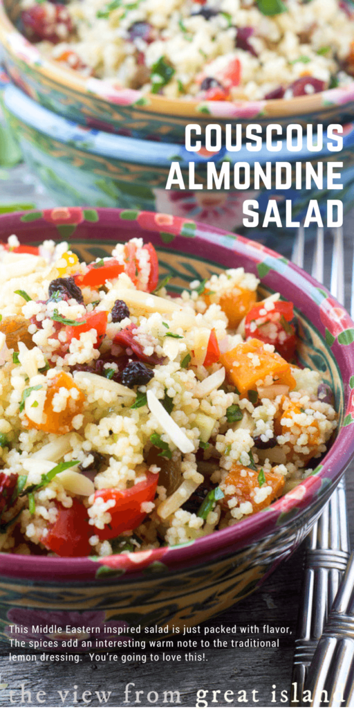 Couscous Almondine Salad pin