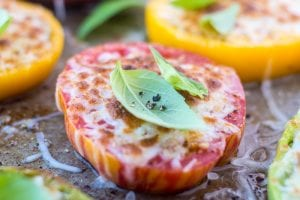 Minimal Monday: Heirloom Parmesan Tomatoes | theviewfromgreatisland.com
