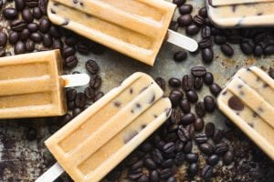 Cold Brew iced Mocha Popsicles | theviewfromgreatisland.com