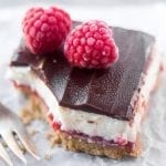 No Bake Raspberry Cheesecake Bars