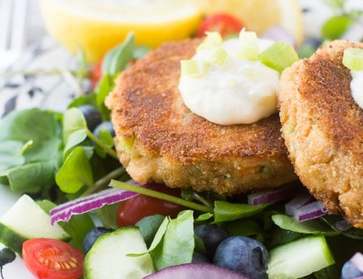 Salmon and Zucchini Burgers ~ theviewfromgreatisland.com