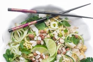 Zoodle Pad Thai | theviewfromgreatisland.com