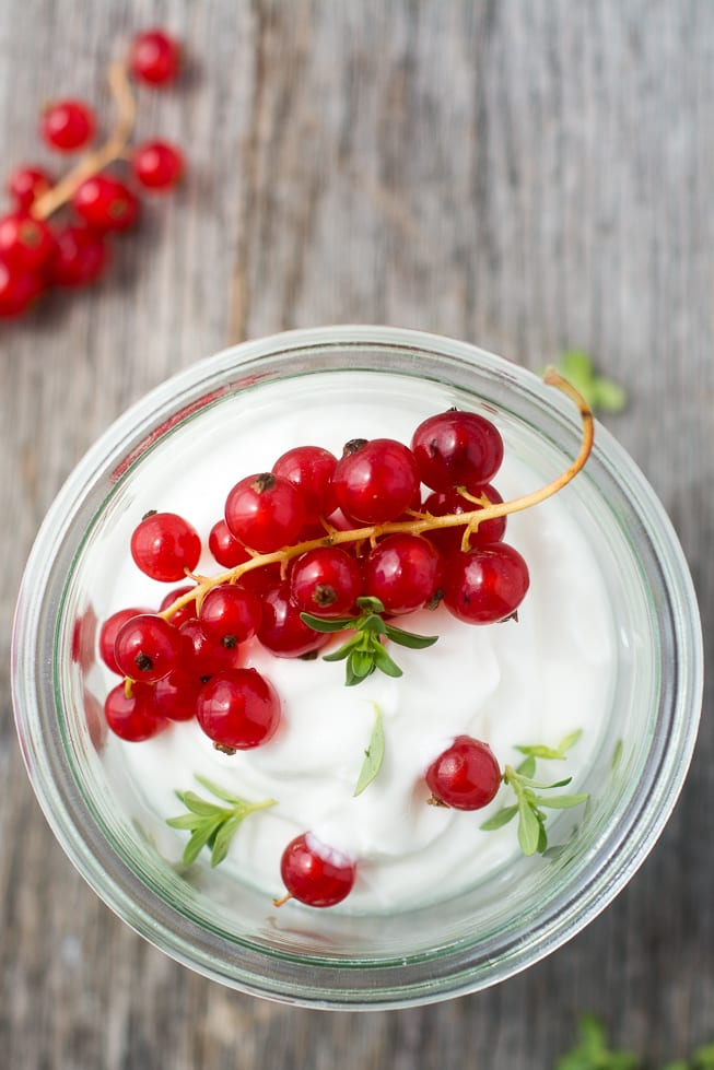 Whipped Yogurt is fluffy, light, and unbelievably delicious --- use it as a healthy dessert or a decadent breakfast! ~ theviewfromgreatisland.com