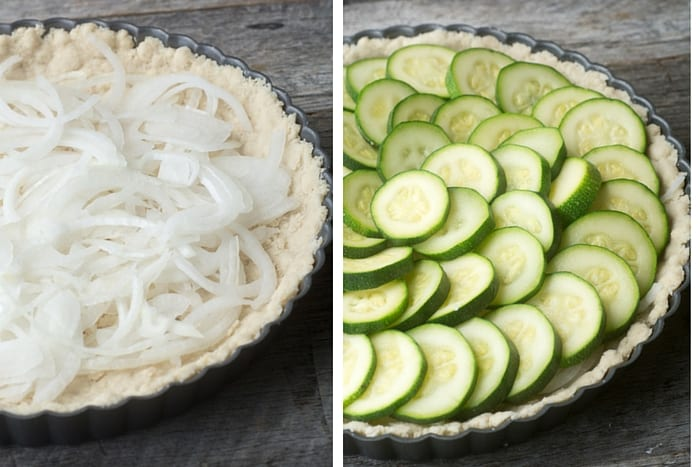 making Zucchini Pie ~ theviewfromgreatisland.com