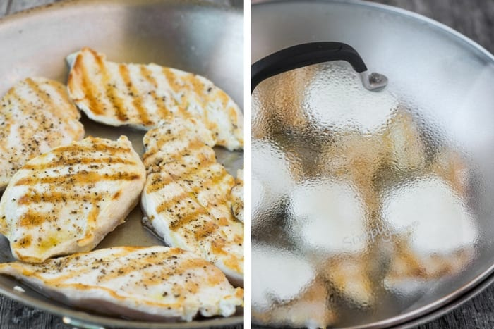 Caprese Skillet Chicken ~ theviewfromgreatisland.com