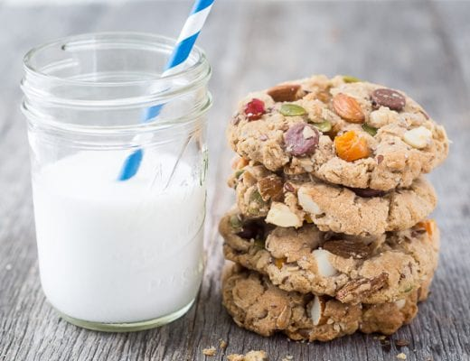 Back To School Breakfast Cookies ~ these cookies have everything but the kitchen sink in them! ~ theviewfromgreatisland.com