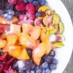 Summer Jumble Fruit Crumble ~ the ultimate way to use up fabulous summer fruit ~ theviewfromgreatisland.com