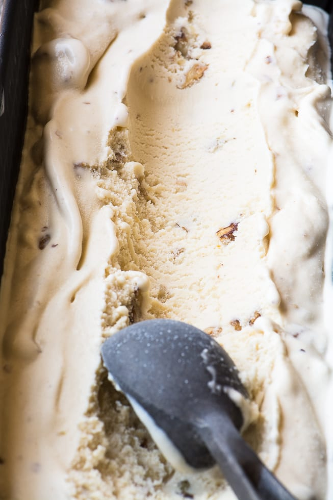 The best ice cream flavor in the world - Maple Walnut Ice Cream - you won't be able to resist! | theviewfromgreatisland.com