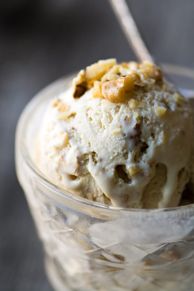 Maple Walnut Ice Cream is a vintage New England flavor that deserves a comeback! | theviewfromgreatisland.com