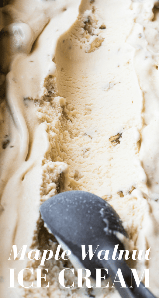 Maple Walnut Ice Cream pin