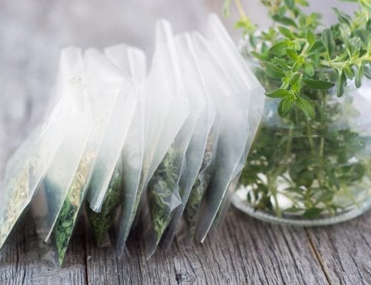 How to Dry Herbs in the Microwave quickly and easily ~ theviewfromgreatisland.com