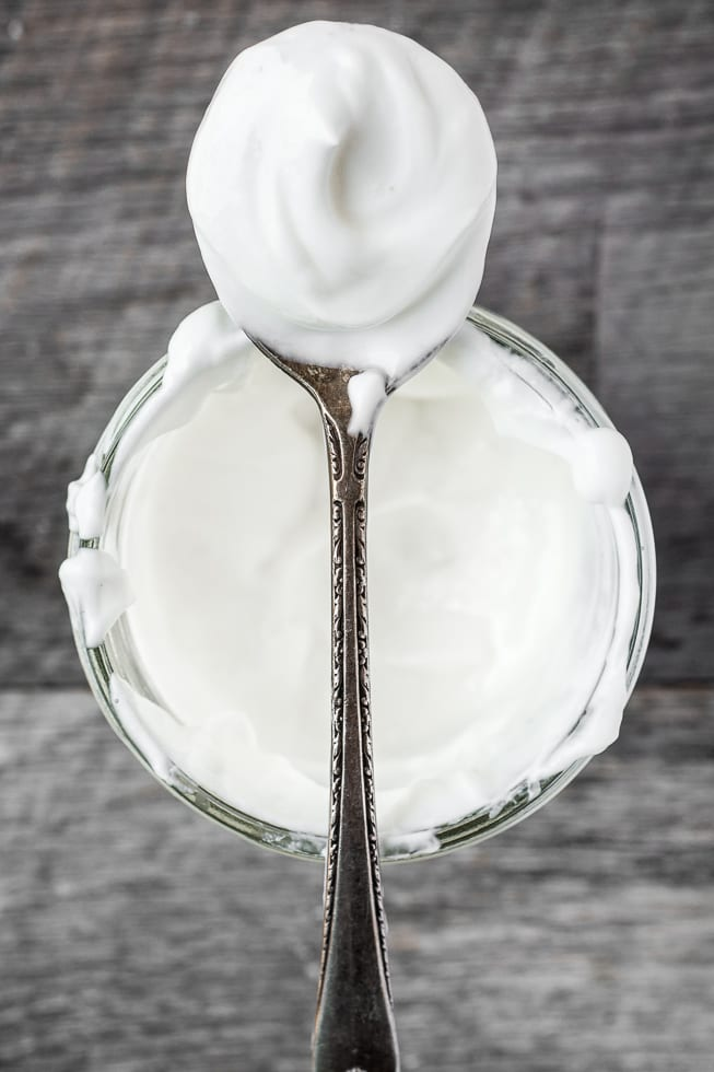Whipped Yogurt is decadently rich and creamy --- serve it as a healthier alternative to whipped cream, or on its own for dessert or breakfast! ~ theviewfromgreatisland.com