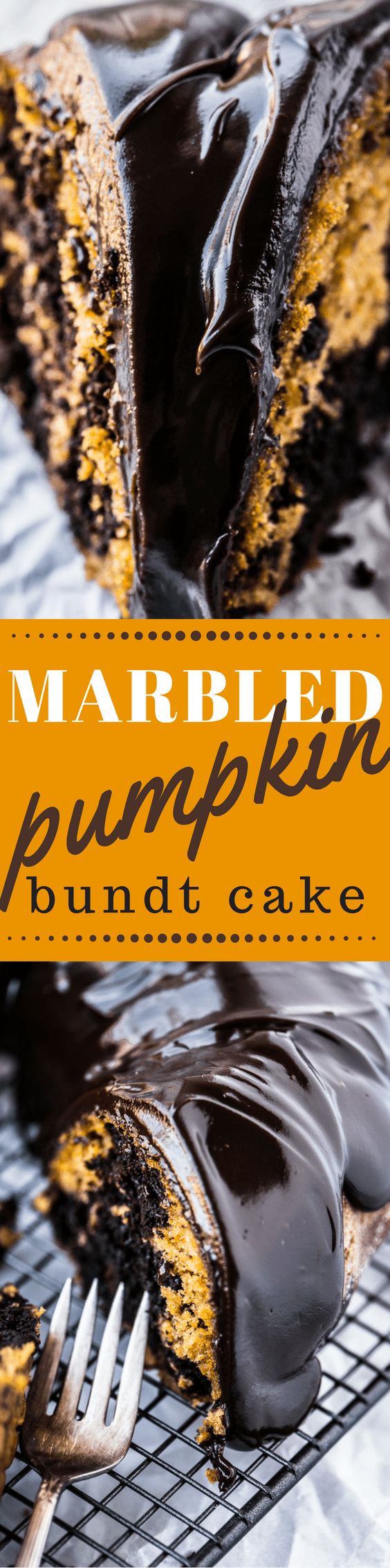 Marbled Pumpkin Bundt Cake is the ultimate Fall indulgence! ~ theviewfromgreatisland.com
