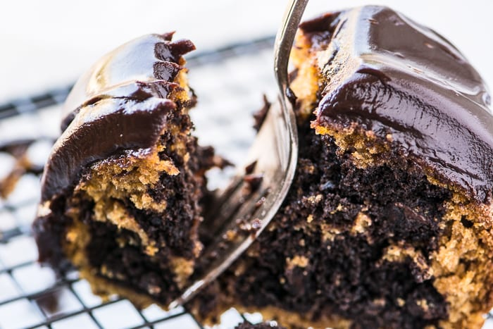 Marbled Pumpkin Bundt Cake ~ theviewfromgreatisland.com