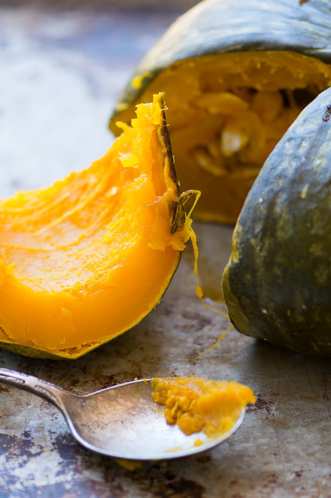 Whole Roasted Kabocha Squash with Homemade Chipotle Butter ~ theviewfromgreatisland.com