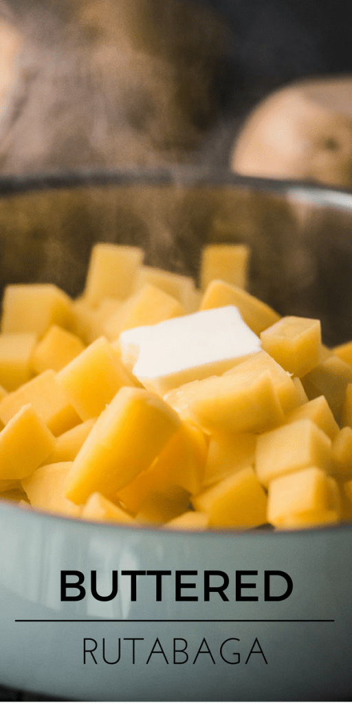 Buttered Rutabaga is an easy, nutritious, and delicious old time side dish for the holidays! ~ theviewfromgreatisland.com