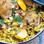 Lemon Chicken Biryani